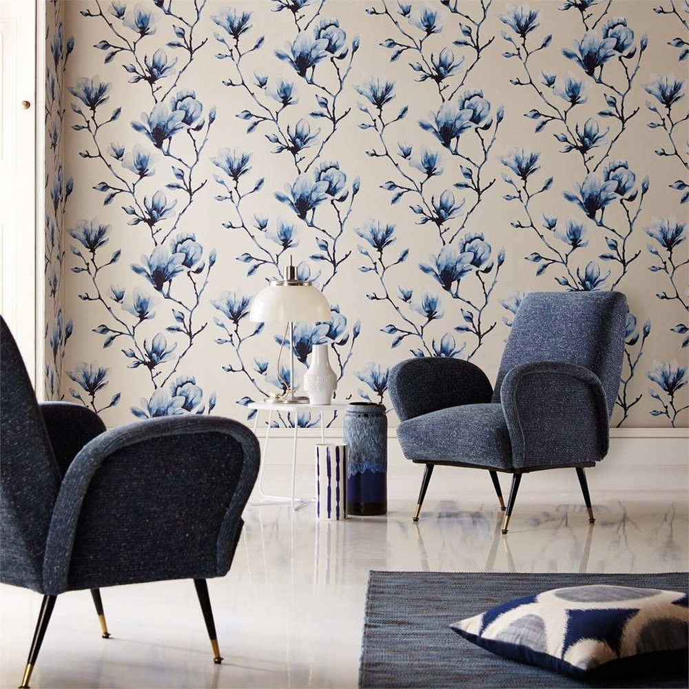 Shop lotus annandale wallpapers - Papel pintado harlequin ...