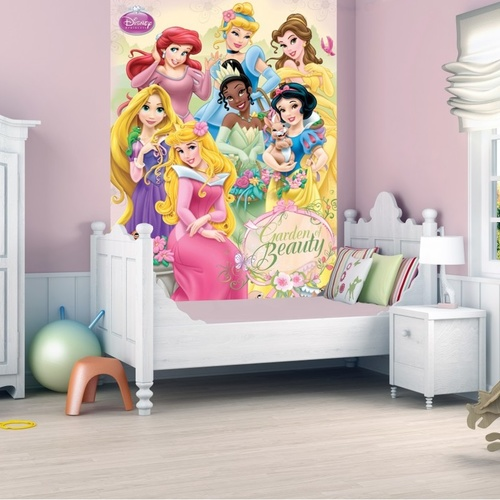 Disney Princesses Mural