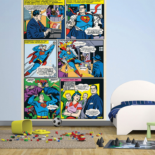 Shop annandale wallpapers for Comic book wallpaper mural