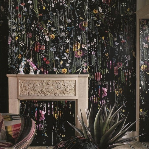 Babylonia Nights Panoramic Mural by Christian Lacroix