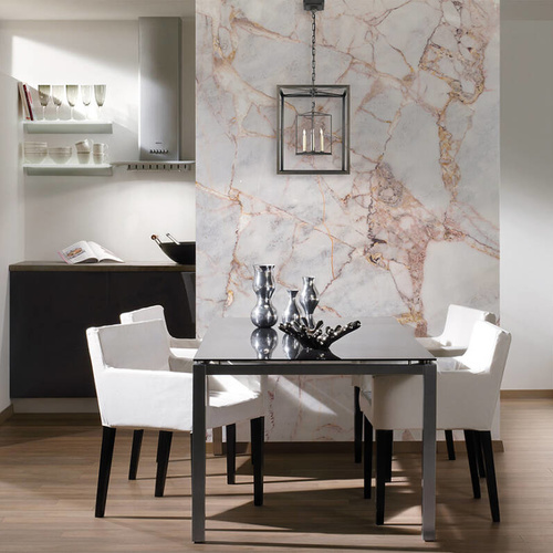 Grey Light Marble Mural